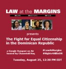 The Fight for Equal Citizenship in the Dominican Republic