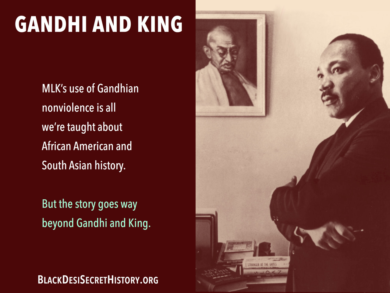 The Secret History of South Asian and African American History http://blackdesisecrethistory.org/