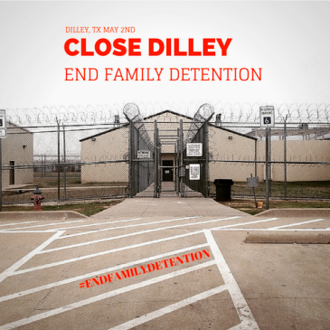National Day of Action to End Family Detention Photo